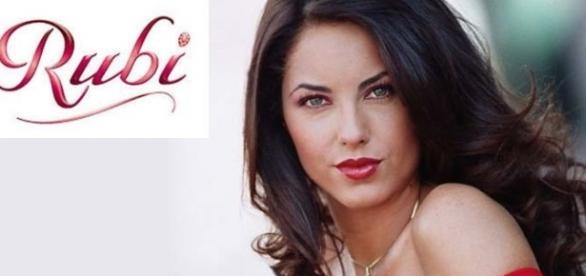 A atriz fez sucesso na novela 'Rubi'