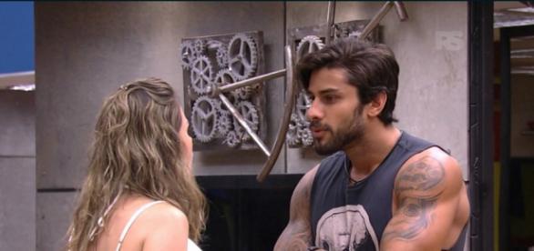 Ana Paula e Renan (Reprodução/Globo)