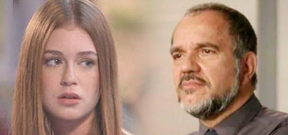 Gilda conta quem é o pai de Eliza