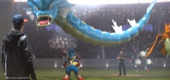 Parte del spot de Pokémon GO en el Superbowl 50