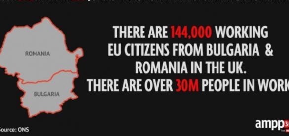 Statistică a ONS arată numărul de imigranți