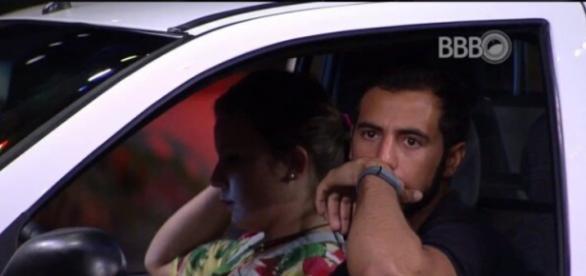 Cacau e Matheus (Reprodução/Globo)