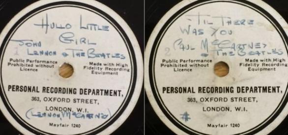 Disco raro da banda encontrado em um sótão.