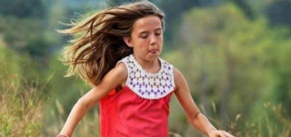 Kiera salvou as duas amigas, de um e dois anos