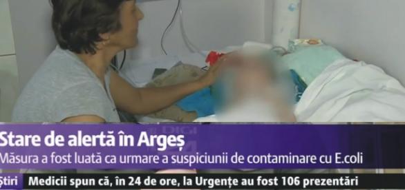 La Argeș a fost declarată starea de alertă