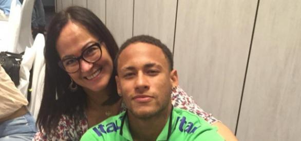 Nadine Santos/ Neymar - Foto: Reprodução/Instagram