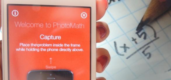 O PhotoMath está disponível gratuitamente