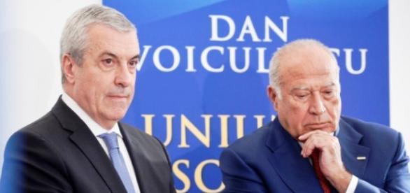 Tăriceanu alături de bunul său prieten Voiculescu