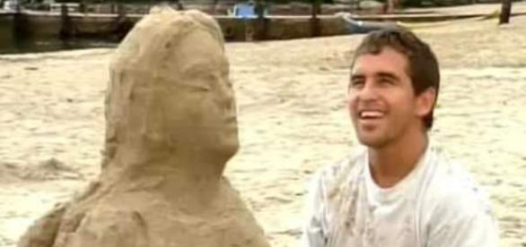 """Tonho da Lua na novela """"Mulheres de Areia"""""""