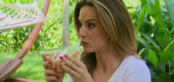 Ana Furtado ensina 'bons hábitos alimentares'