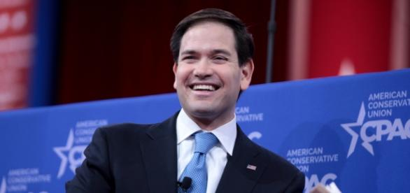 Cuban-American senator Marco Rubio.