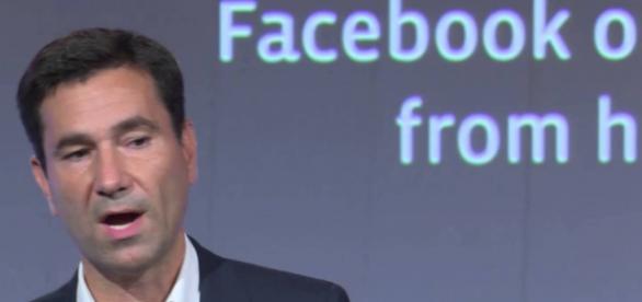 Diego Dzodan, alto directivo de Facebook detenido.