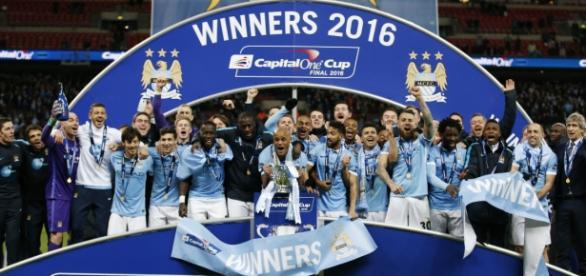Manchester City, Campeón de la Capital One Cup.