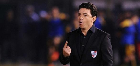 Marcelo Gallardo es el técnico de River Plate
