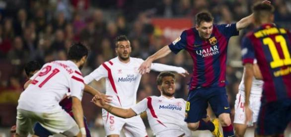 O Barcelona pretende continuar a senda vitoriosa