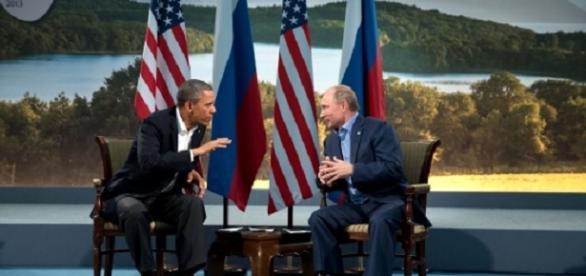 Obama and Putin were friends in 2013.