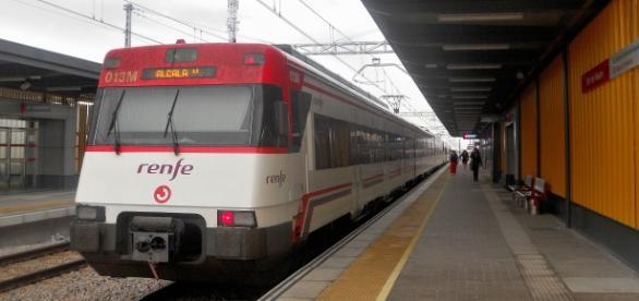 Tren de Cercanías en Soto del Henares
