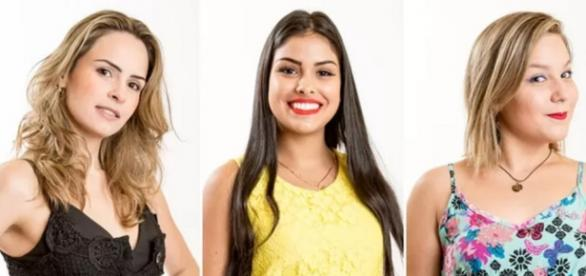 Ana Paula, Munik e Maria Claudia - Foto/Divul