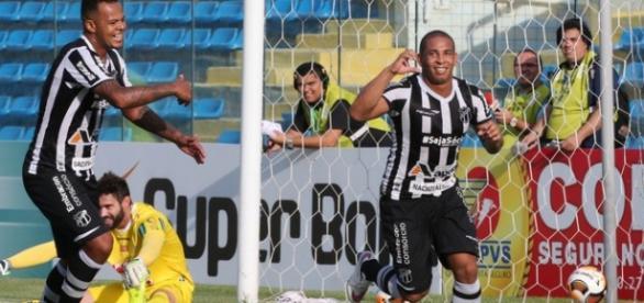 Ceará vence o Guarany e garante segunda fase.