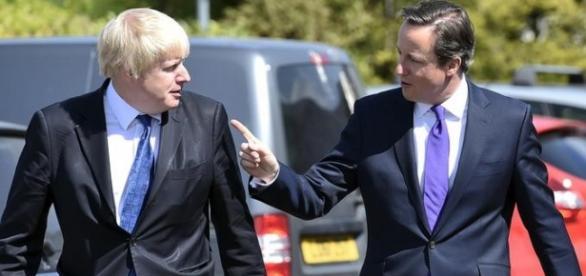 David Cameron și Boris Johnson au ajuns rivali