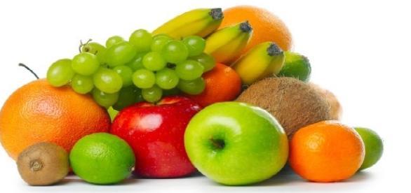 Owoce mają w sobie najwięcej witamin.