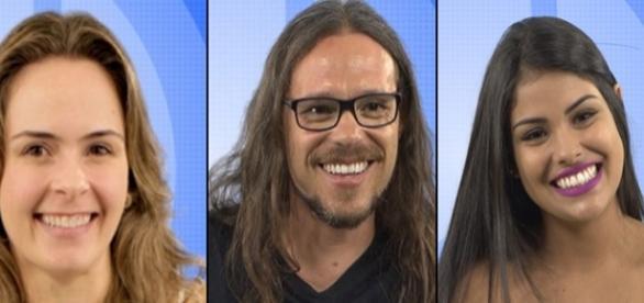 Ana Paula, Tamiel e Munik estão no paredão