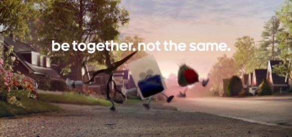 Android spot: rock, paper and scissors are friends