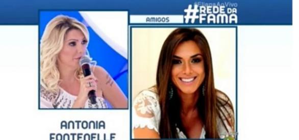 Antonia Fontenelle critica famosas no SBT