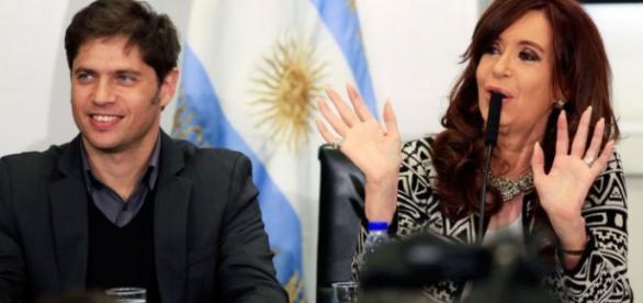Cristina Fernández y Axel Kicillof a indagatoria