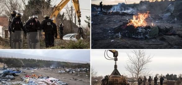 """Evacuarea """"Junglei"""" din Calais"""
