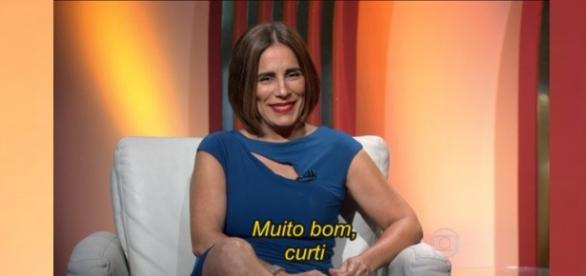 Globo reprova comentários de Glória Pires