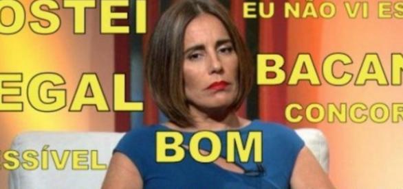 Glória Pires faz história na Globo no Oscar