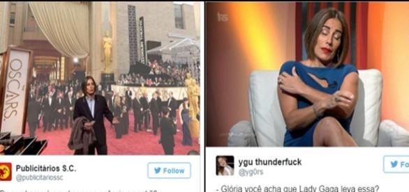 Glória Pires vira meme no Oscar 2016