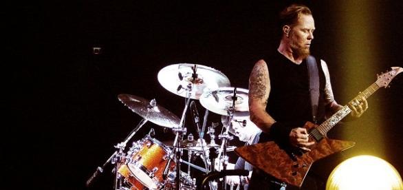 James Hetfield es el líder de Metallica
