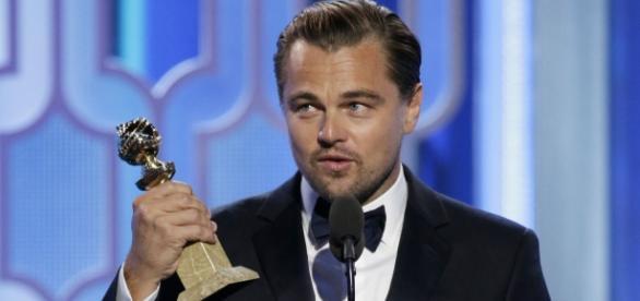Leodardo diCaprio, la primul mare trofeu