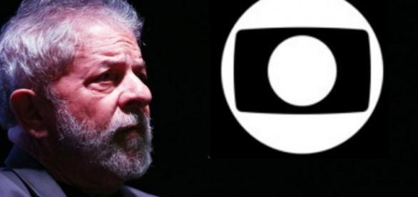 Lula faz críticas À Globo - Foto/Montagem