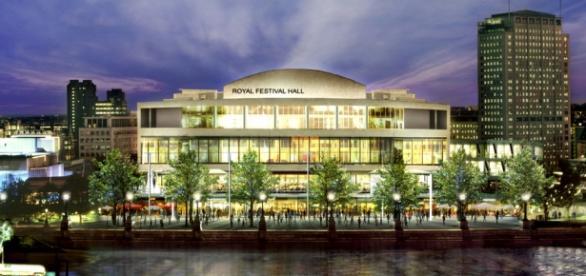 Southbank Centre em Londres na Inglaterra