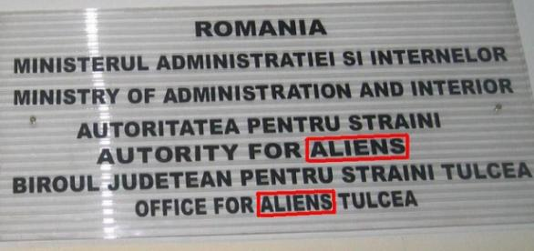 Extratereştrii există ... la Tulcea