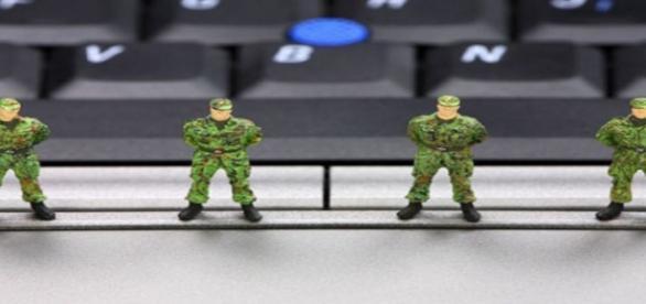 Imagen de seguridad con ordenador. Flickr