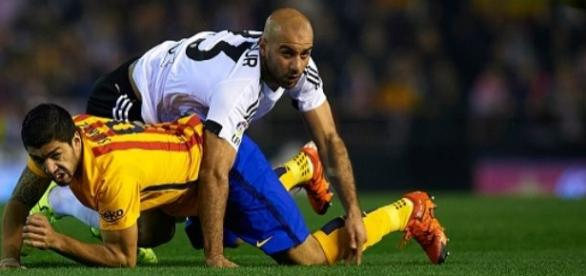 Partido Barça vs Valencia. Foto de Sportskeeda