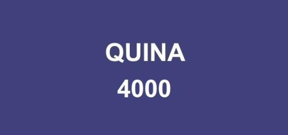 Quina 4000 sorteou prêmio superior a R$ 3 milhões
