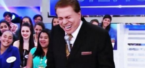 Silvio Santos é só alegria com o SBT