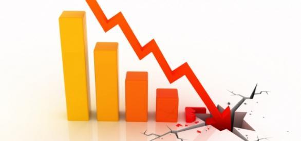 imagem ilustrativa de queda da gestão da crise