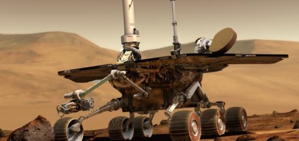 Roverul NASA pe suprafata planetei Marte