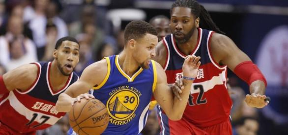 Stephen Curry vs Washington Wizards.