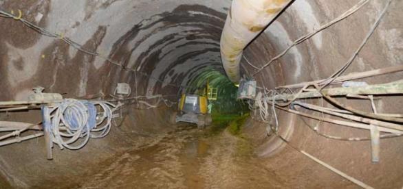 Túnel deve chegar a mais de 1 km de extensão