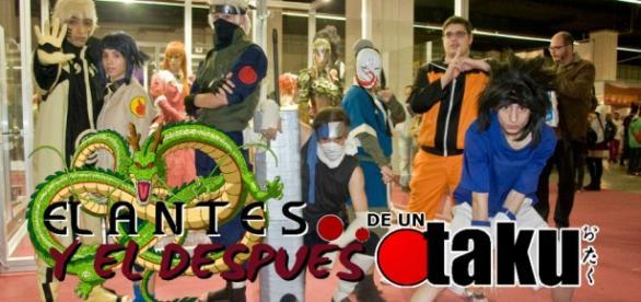 Jovenes Otakus en el salón del cómic de 2012.