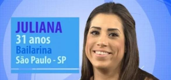 Juliana é a nova líder do Big Brother Brasil