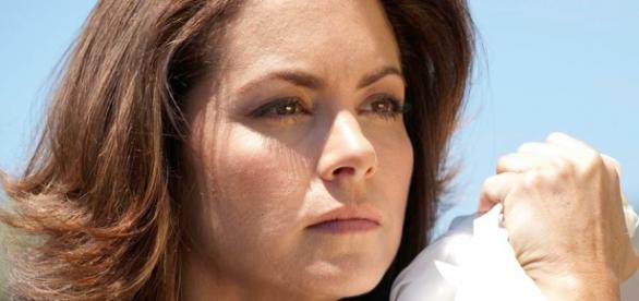 Lucero em cena da novela ''A Dona''.