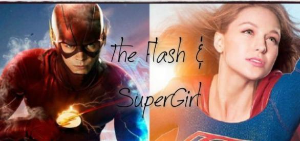 Parceria entre The Flash e SuperGirl